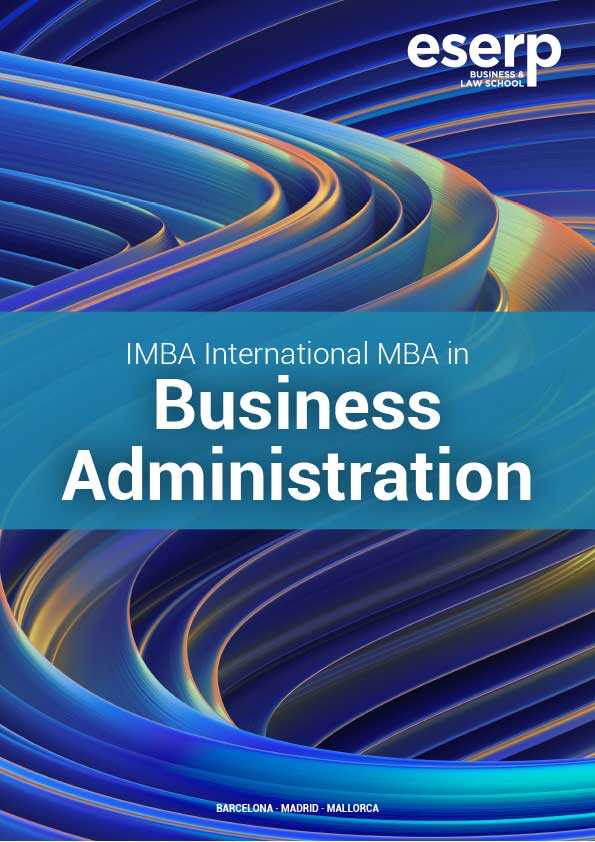 Brochure International MBA Barcelona in English
