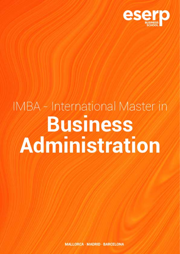 Brochure International Master in Business Administration in Mallorca