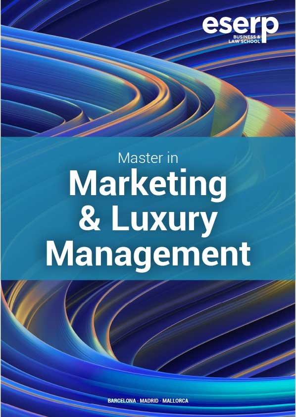 Brochure Master in Marketing and Luxury Management in Barcelona
